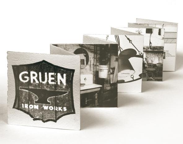 Gruen Iron Works | Acetone Transfer & Letterpress on Paper
