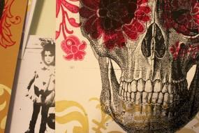 Dia de los Muertos   Screen Print on Paper