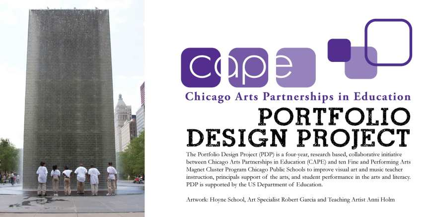Chicago Arts Partnerships in Education|banner design