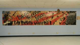 Bogan High School Mural Hope Over Fear