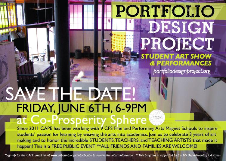 Portfolio Design Project Final Celebration Event