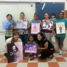Telpochcalli Community Education Project (TCEP)   Summer Painting Workshop