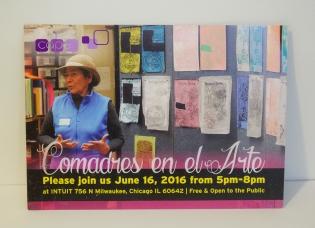 Comadres en el Arte Postcard