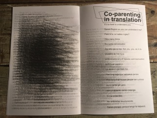 Co-parenting in translation
