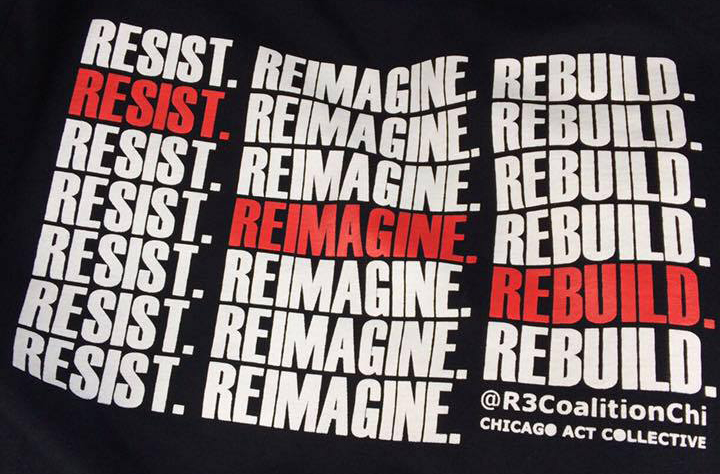 Resist. Reimagine. Rebuild. May Day 2017