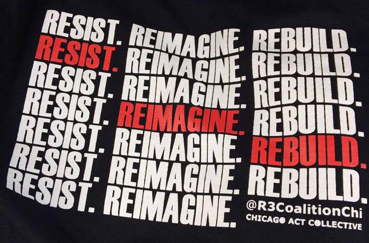 Resist. Reimagine. Rebuild. May Day 2017